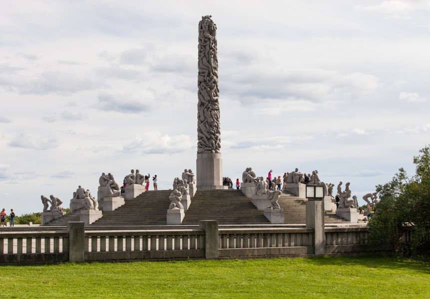 Vigeland park, Oslo city, Norway, June 2014, picture 31