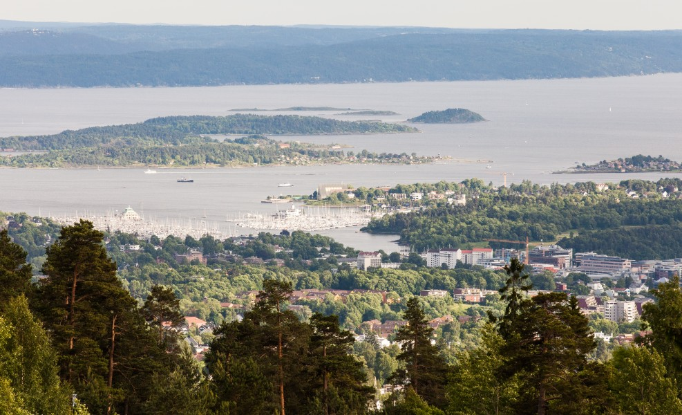 Oslofjord, Oslo city, Norway, June 2014, picture 39