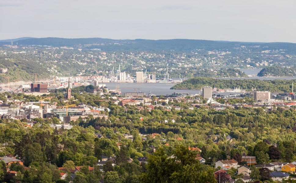 Oslo city, Norway, June 2014, picture 46