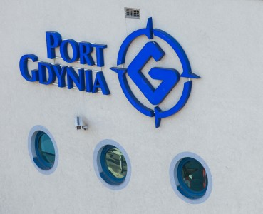 port Gdynia logo in June 2014