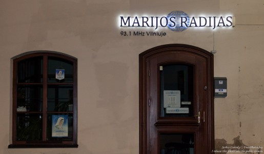 radio Maria in Vilnius, Lithuania, in January 2017, picture 1