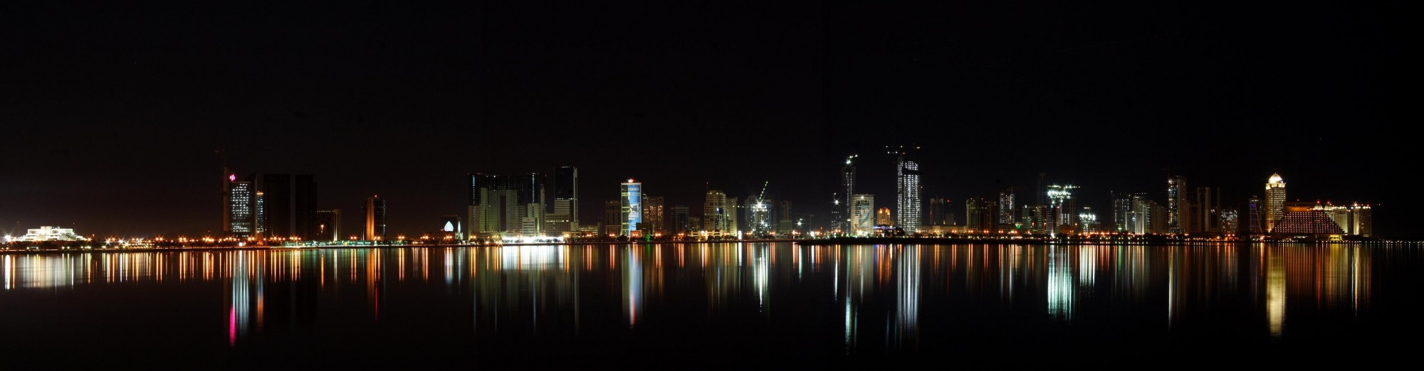 Doha Panoramic Night