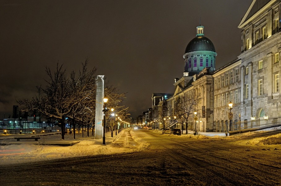 Marché Bonsecours Winter