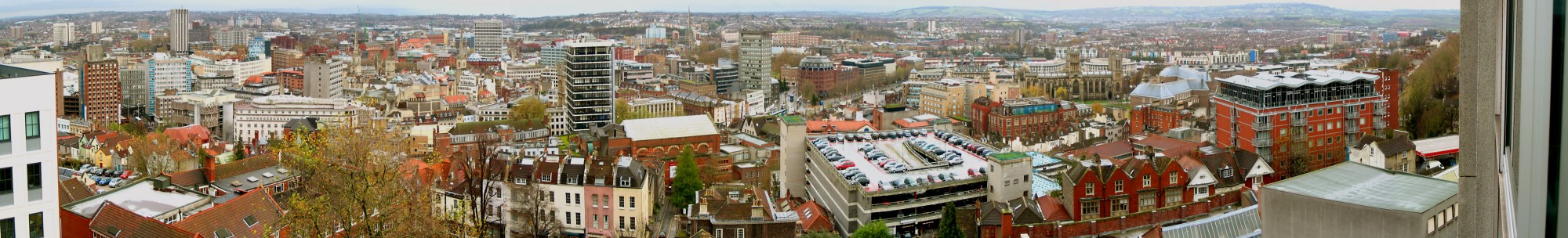 Panorama of Bristol