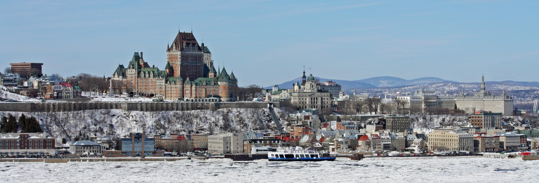 Panorama of Quebec City