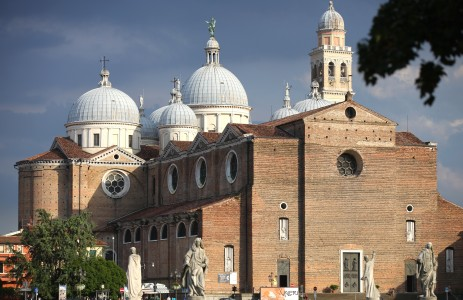 a church in Padua city, Italy, Europe, August 2013, picture 30