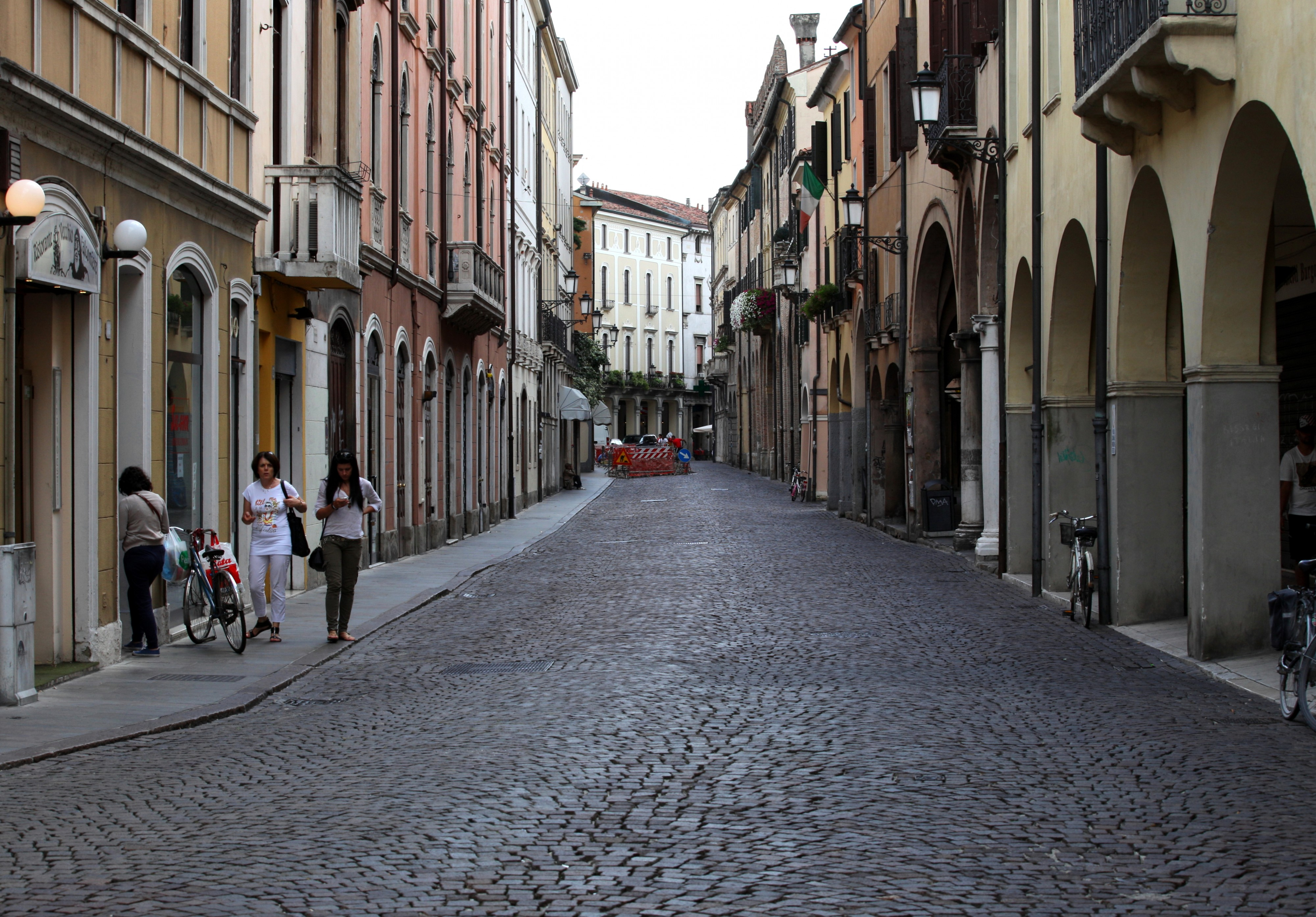 Padua city, Italy, Europe, August 2013, picture 23