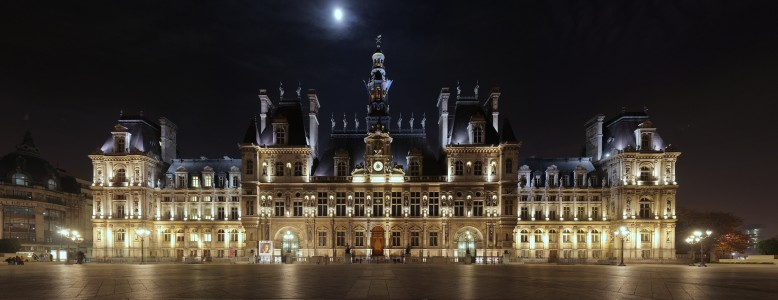 Hotel de Ville Paris Wikimedia Commons