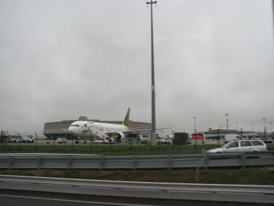 Airport near Paris