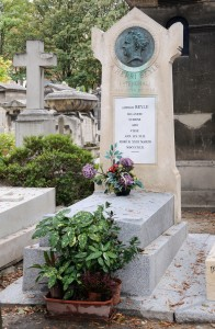 Stendhal tombe cimetiere Montmartre