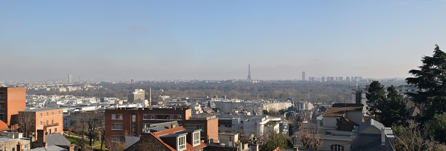 View of Paris from Mont-Valérien, Suresnes 001