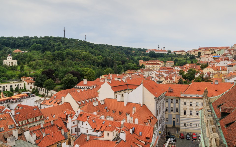 Prague 07-2016 View from Lesser Town Nicholas Church img2