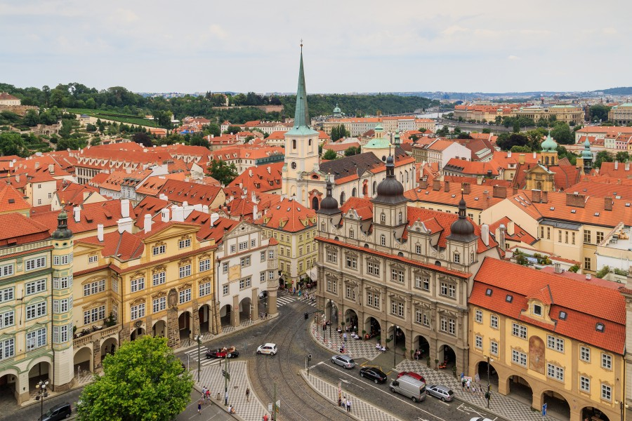 Prague 07-2016 View from Lesser Town Nicholas Church img4