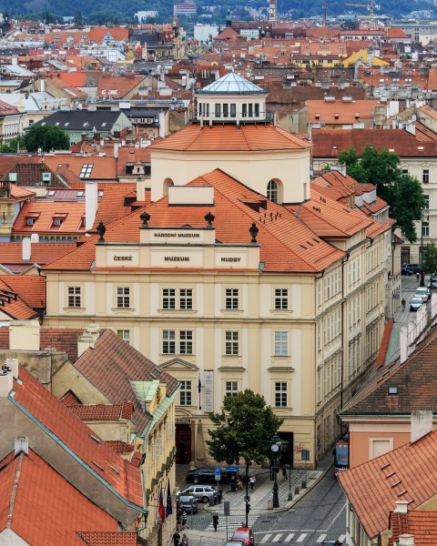 Prague 07-2016 View from Lesser Town Nicholas Church img8