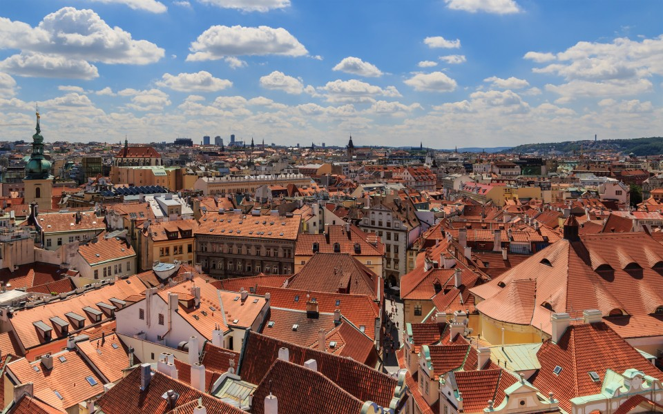 Prague 07-2016 View from Old Town Hall Tower img1