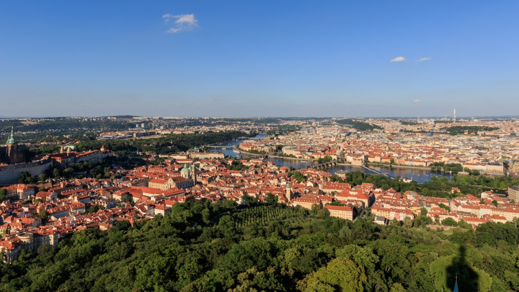 Prague 07-2016 View from Petrinska Tower img1