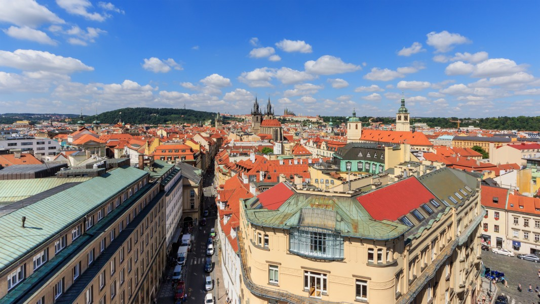 Prague 07-2016 View from Powder Tower img1
