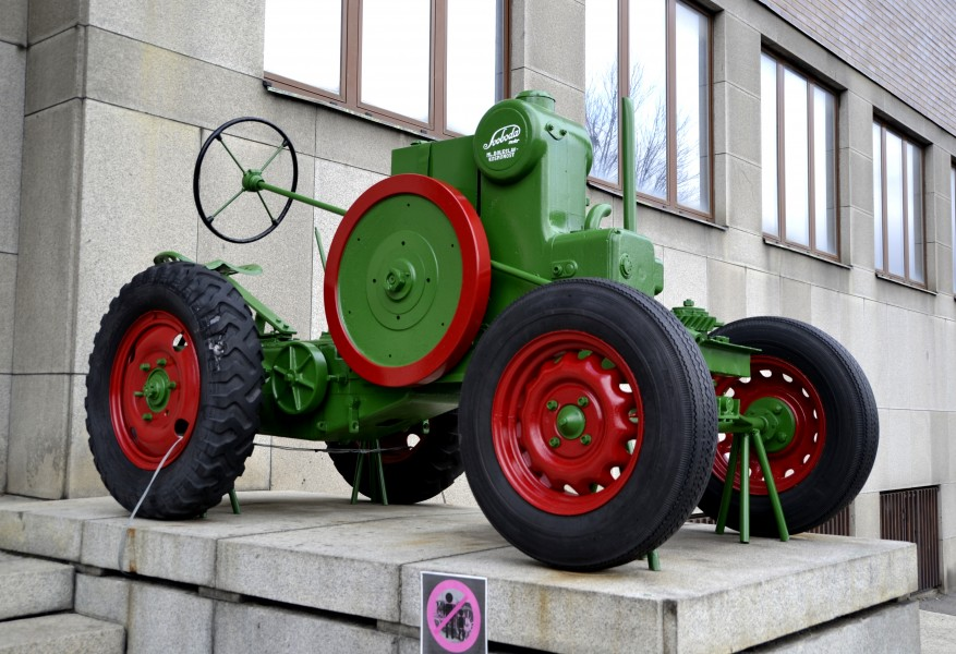 Svoboda tractor, National Museum of Agriculture in Prague