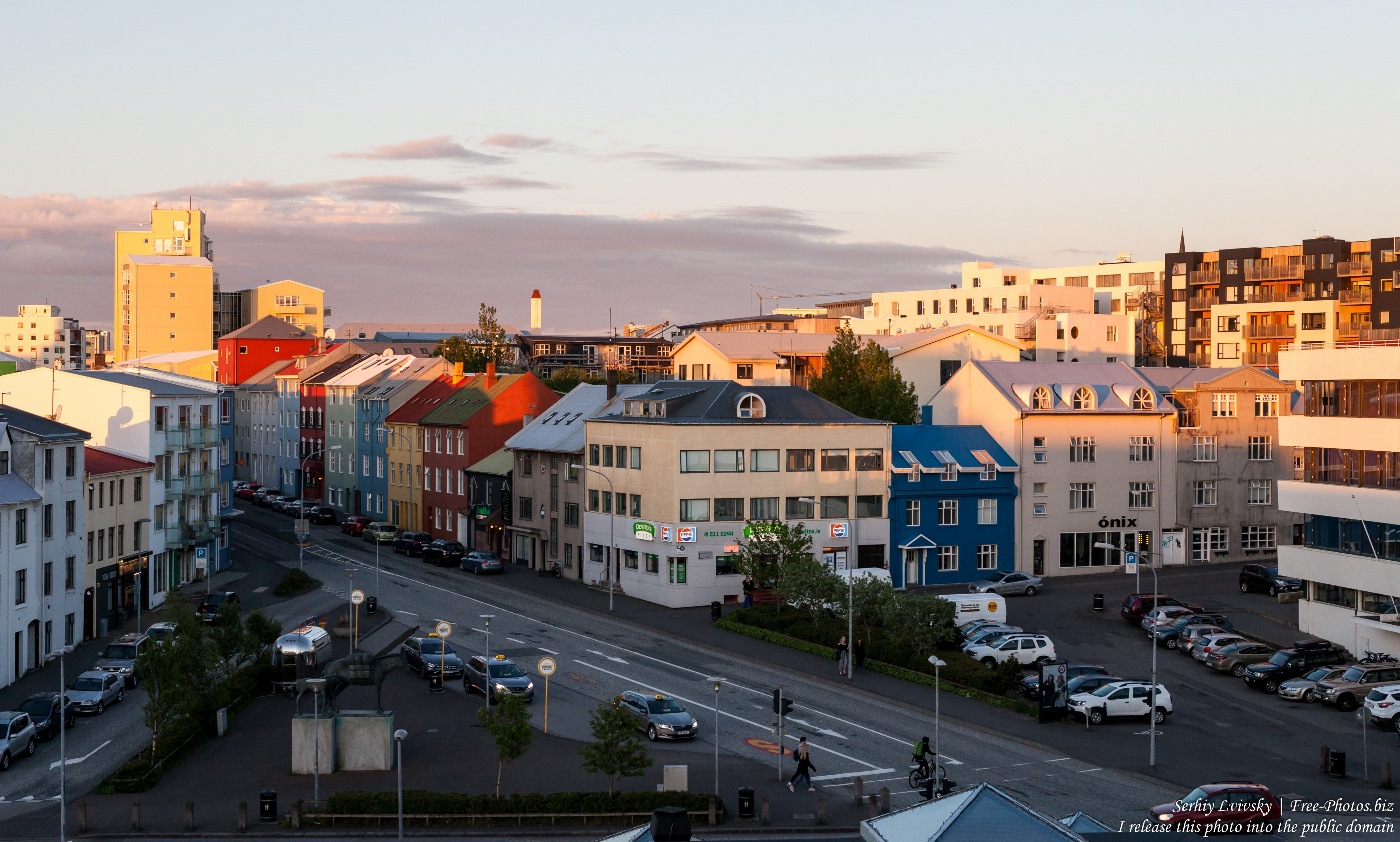 Reykjavik, Iceland, photographed in May 2019 by Serhiy Lvivsky, picture 1