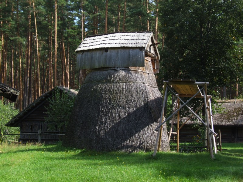 Latvian Ethnographic Open-Air Museum - windmill