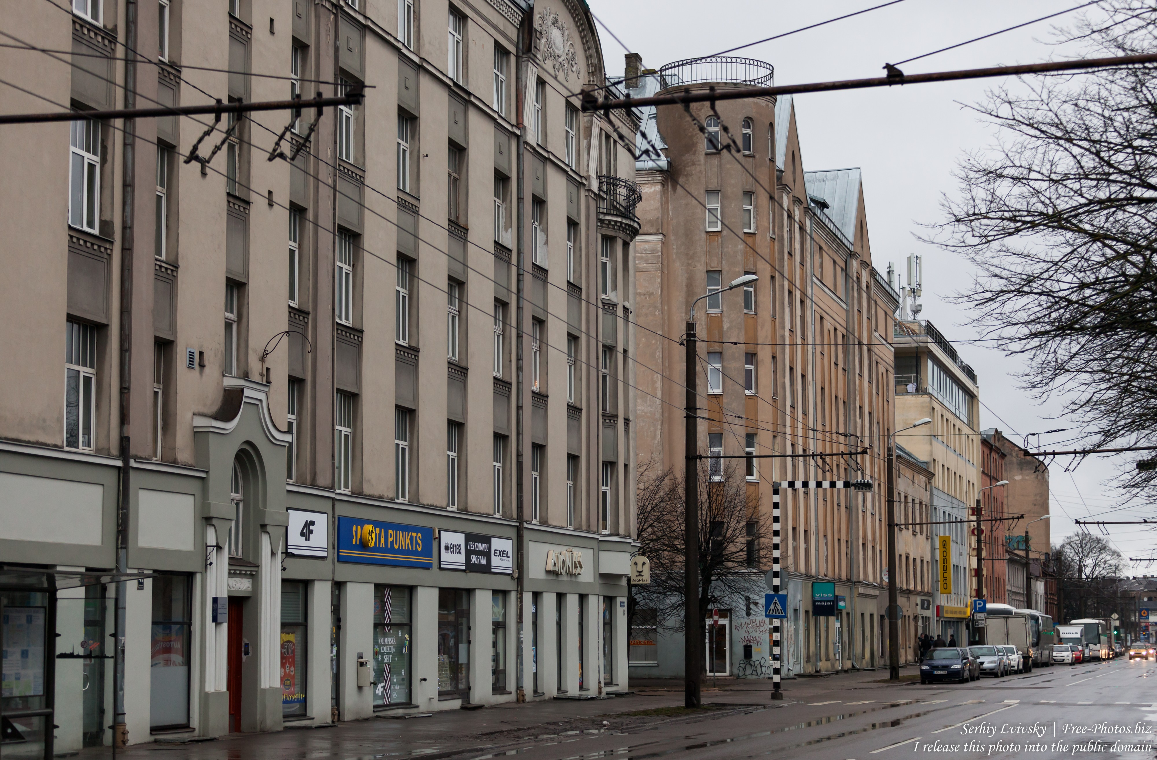 Riga city (Latvia) in January 2017, picture 4