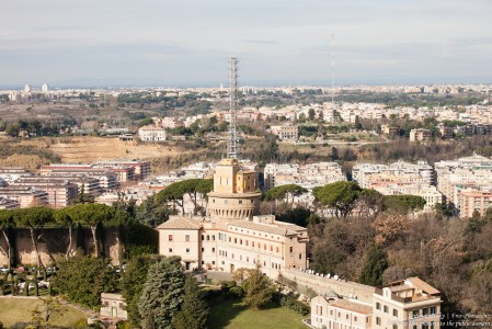 Rome and Vatican, Radio Vatican in the foreground, photographed in January 2016 by Serhiy Lvivsky, picture 7