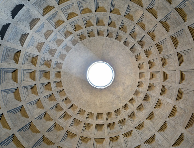 Pantheon (Rome) - Dome interior