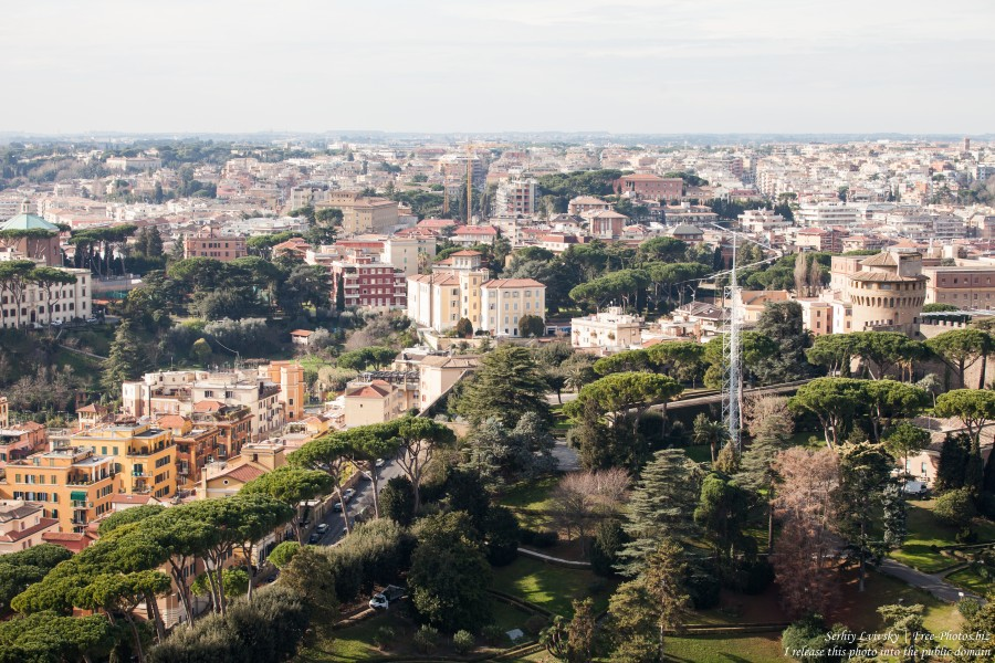 Rome and, maybe, some Vatican photographed in January 2016 by Serhiy Lvivsky, picture 3