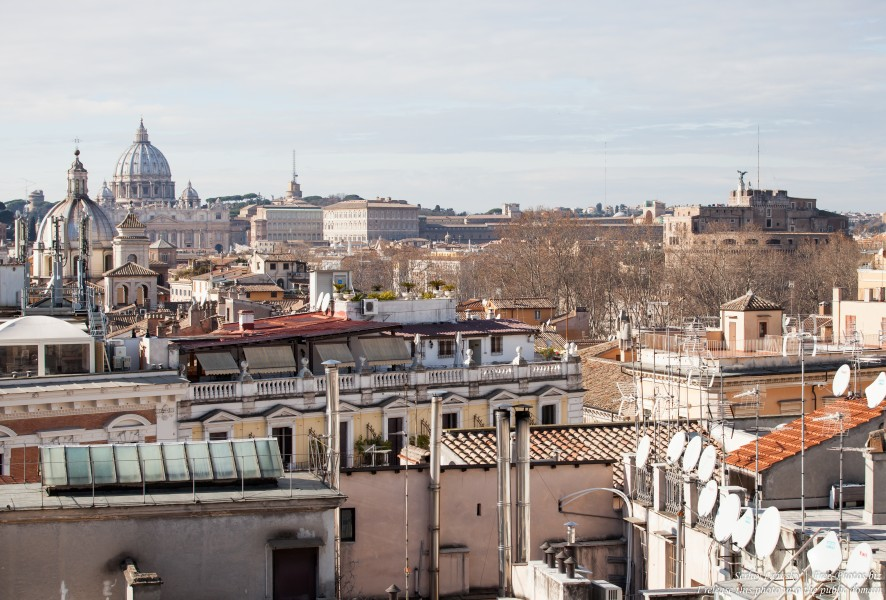 Rome and Vatican photographed in January 2016 by Serhiy Lvivsky, picture 6