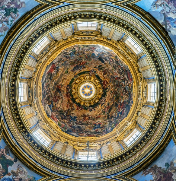 Sant'Agnese in Agone (Rome) - Dome