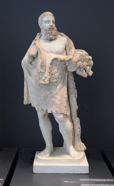 Statue of Heracles in Palazzo Massimo alle Terme (Rome)