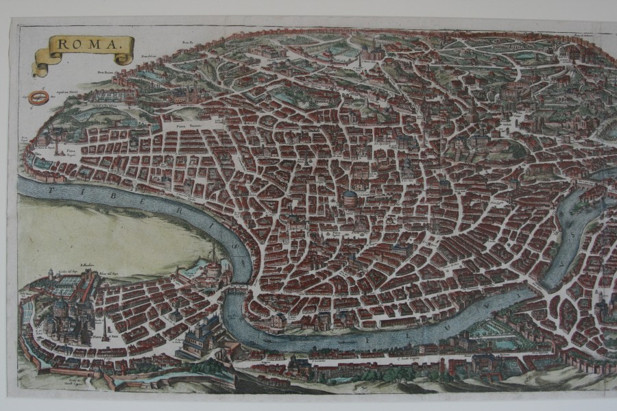 View of Rome Roma 1688