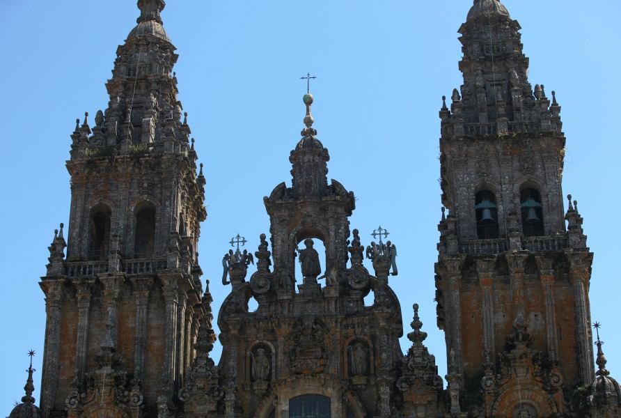 Santiago de Compostela Cathedral, Galicia, Spain, Europe, August 2013, picture 6
