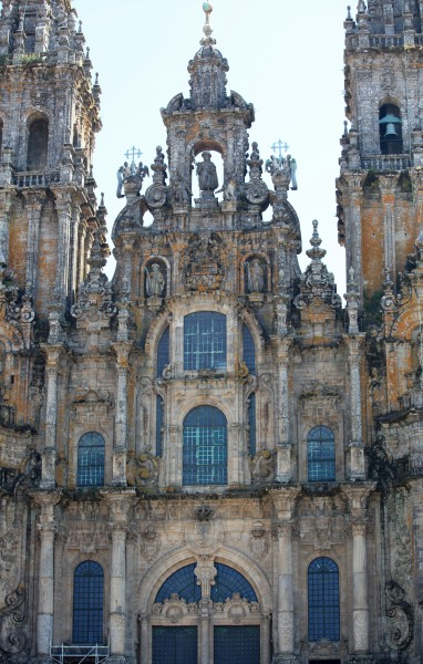 Santiago de Compostela Cathedral, Galicia, Spain, Europe, August 2013, picture 8