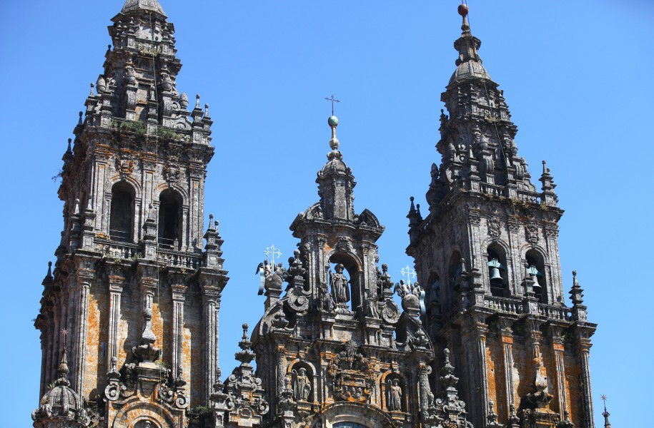 the Cathedral of Santiago de Compostela, Galicia, Spain, Europe, August 2013, picture 14