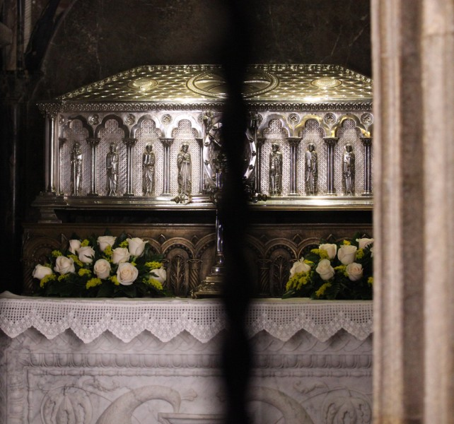 the relics of Saint James in Santiago de Compostella, Galicia, Spain, Europe, August 2013, picture 25