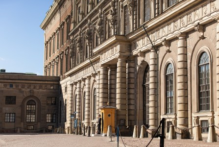 the royal palace in Stockholm city, Sweden, June 2014, picture 17