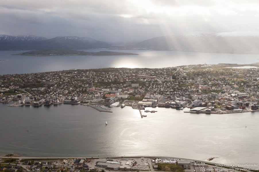 Tromso, Norway, photographed in June 2018 by Serhiy Lvivsky, picture 4