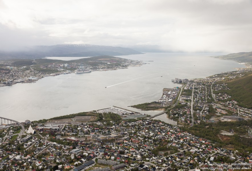 Tromso, Norway, photographed in June 2018 by Serhiy Lvivsky, picture 6