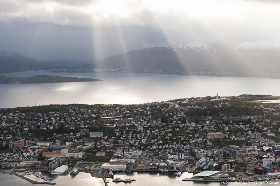 Tromso, Norway, photographed in June 2018 by Serhiy Lvivsky, picture 7