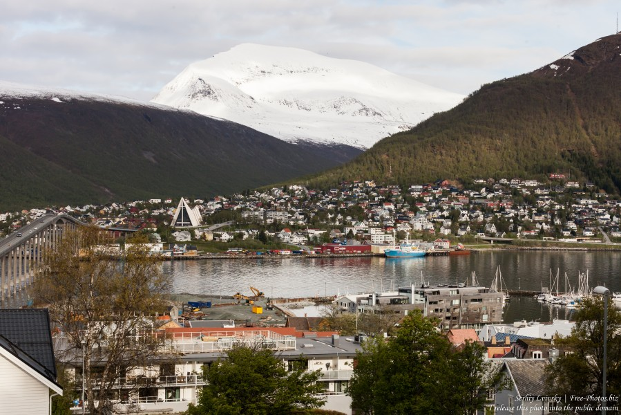 Tromso, Norway, photographed in June 2018 by Serhiy Lvivsky, picture 58