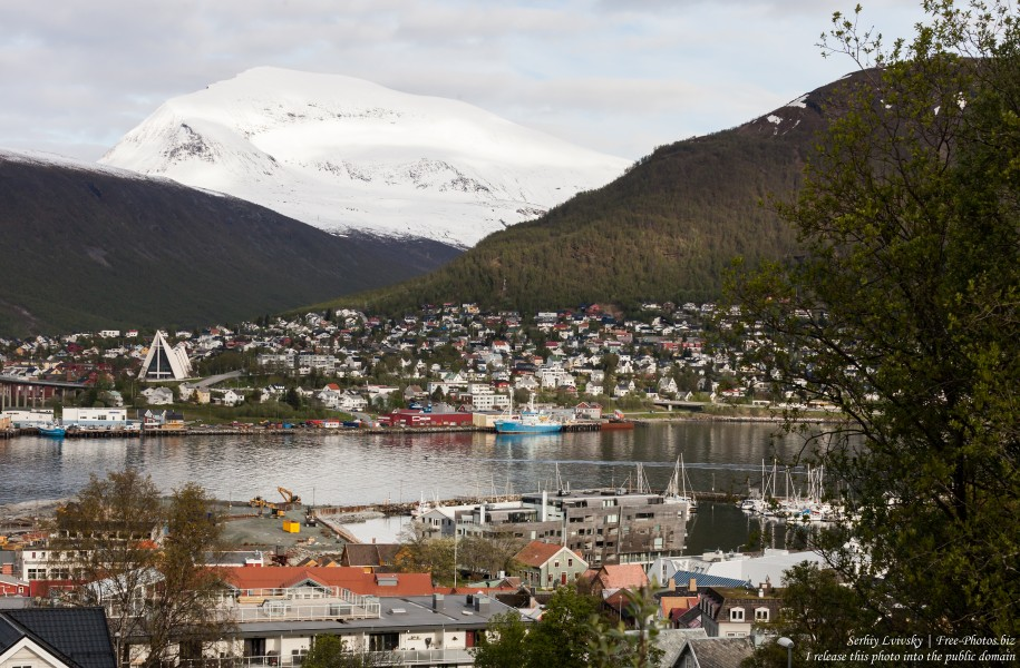 Tromso, Norway, photographed in June 2018 by Serhiy Lvivsky, picture 60