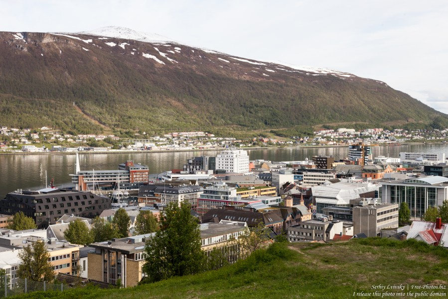Tromso, Norway, photographed in June 2018 by Serhiy Lvivsky, picture 62