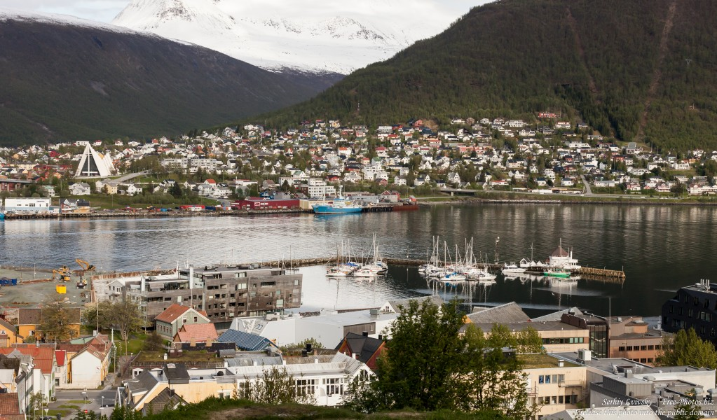 Tromso, Norway, photographed in June 2018 by Serhiy Lvivsky, picture 63