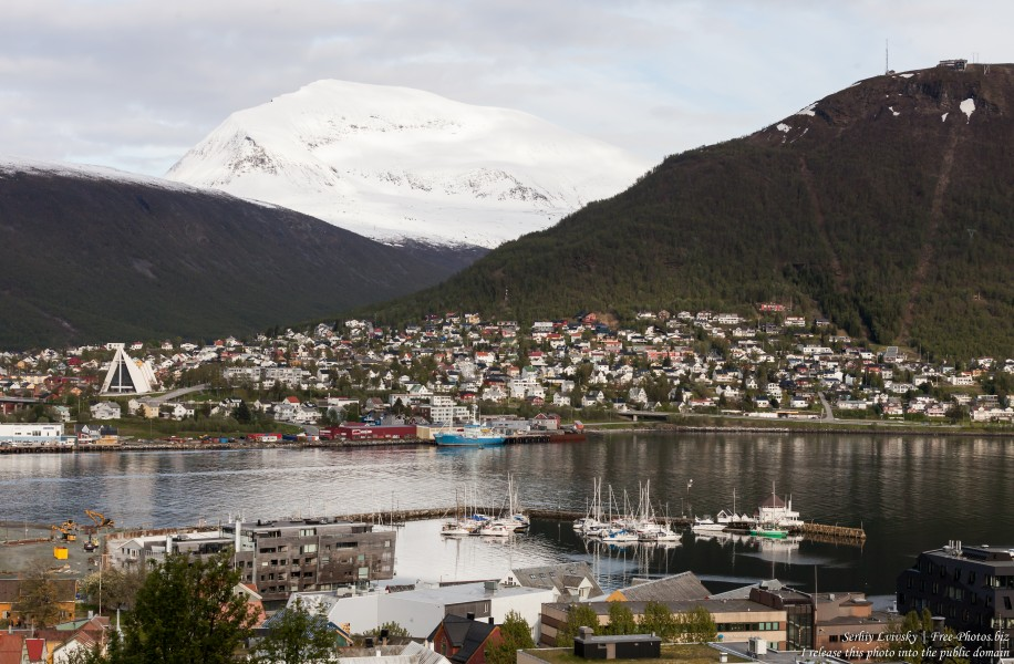 Tromso, Norway, photographed in June 2018 by Serhiy Lvivsky, picture 64