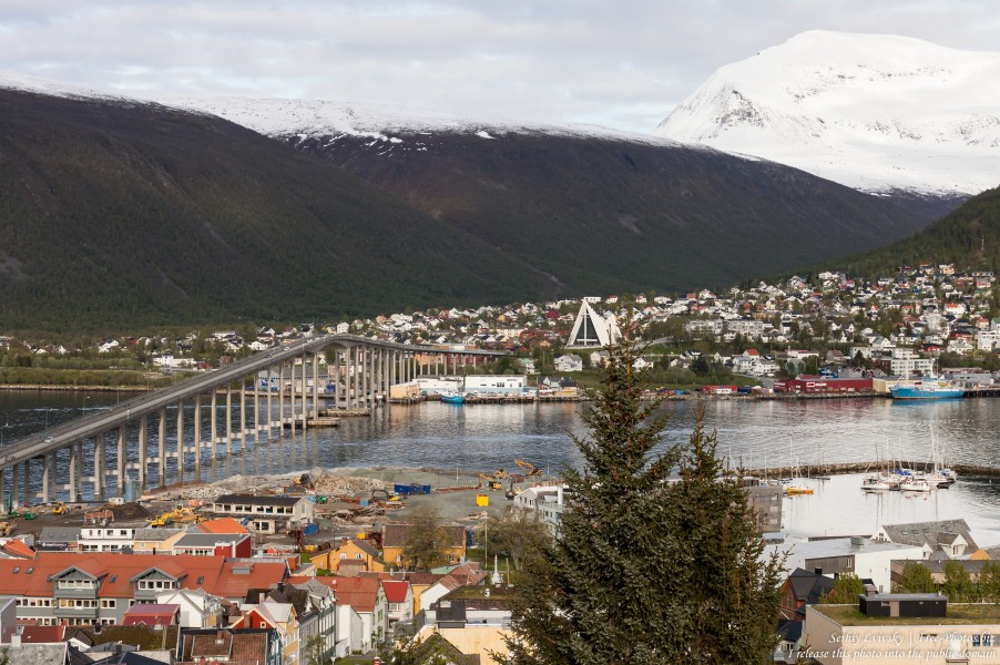 Tromso, Norway, photographed in June 2018 by Serhiy Lvivsky, picture 66