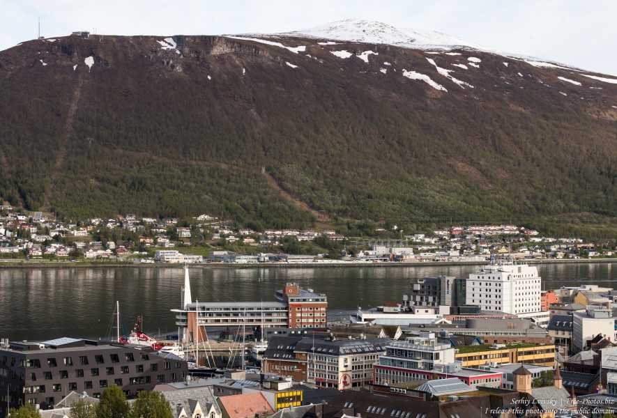 Tromso, Norway, photographed in June 2018 by Serhiy Lvivsky, picture 67