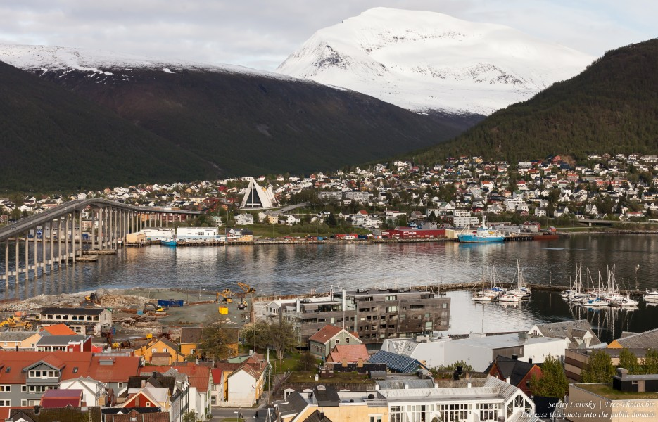Tromso, Norway, photographed in June 2018 by Serhiy Lvivsky, picture 69