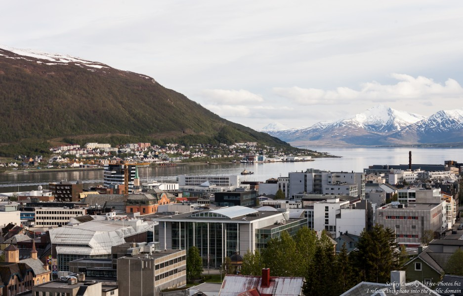 Tromso, Norway, photographed in June 2018 by Serhiy Lvivsky, picture 71