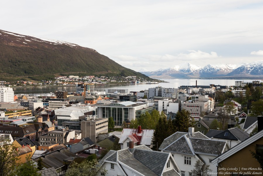 Tromso, Norway, photographed in June 2018 by Serhiy Lvivsky, picture 73